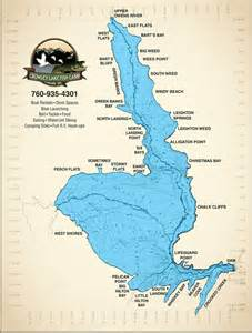 crowley lake fishing map images