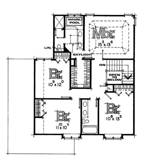 house plan 2219 dawson floor plan traditional 1 1 2 farmhouse style house plan 4 beds 2 5 baths 2219 sq ft