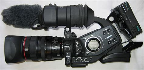 Kamera Shooting Canon file canon xlh1 hd side view jpg wikimedia commons