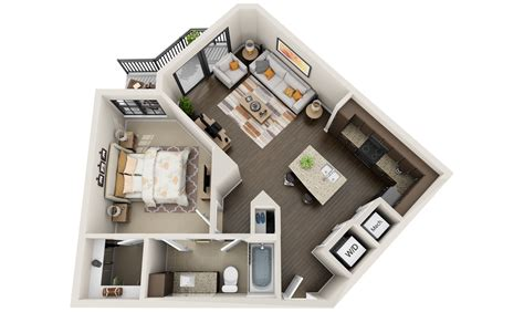 floor plan 3d best 3d floor plans tours for apartments