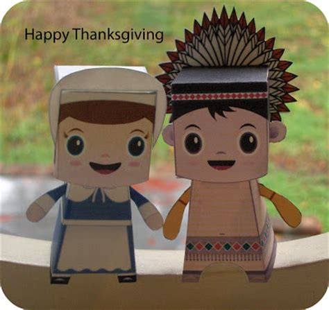 Thanksgiving Paper Crafts - zakka thanksgiving paper craft