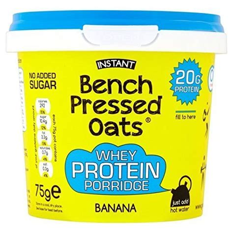 bench pressed oats tesco oomf find offers online and compare prices at wunderstore