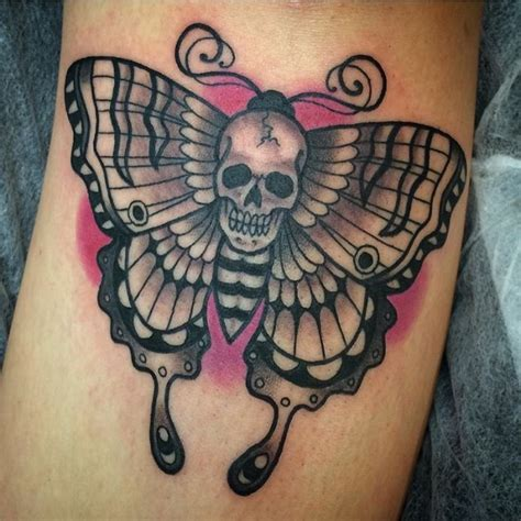skull butterfly tattoo 40 gorgeous butterfly designs and meaning