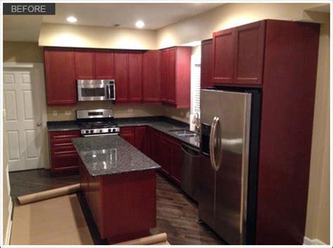 kitchen cabinet refinishing roscoe il