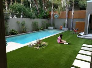 Pool Backyard Designs Silver Lake Backyard Design