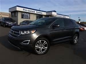 2015 ford edge titanium burlington ontario used car for
