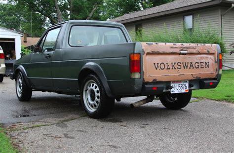 volkswagen rabbit truck 1982 1982 vw rabbit truck for sale german cars for sale