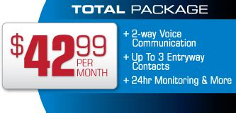 adt home security packages pricing