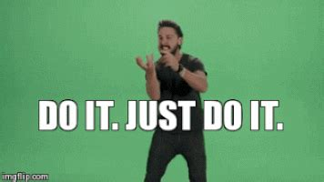 Just Do It Meme - just do it gif find share on giphy