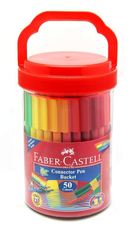 faber castell connector pen set of 50 pens for children quality pens for