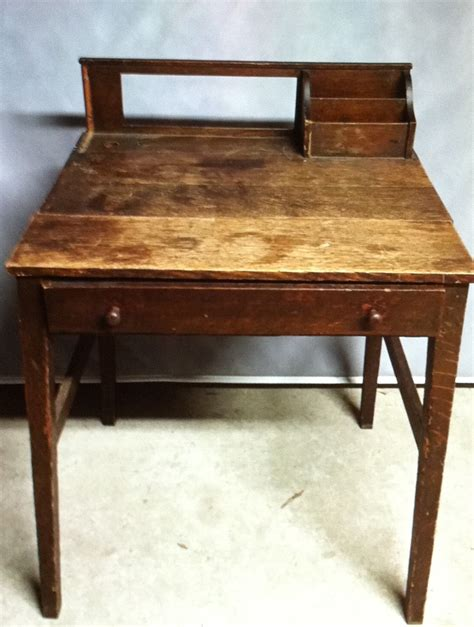 brown wooden desk collectors weekly