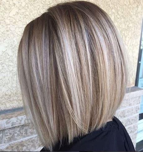 bob frisur blonde straehnen