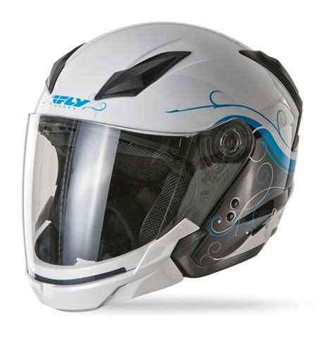 Helm Half Gix 207 Racing Visor fly tourist cirrus s helmet revzilla