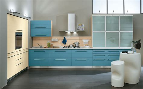 cool blue kitchens design inspirations kitchen design