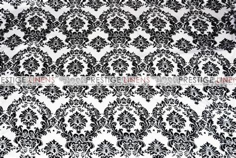 damask table linens damask print lamour table linen white black prestige