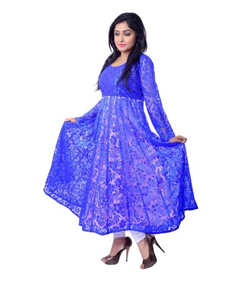 kurti pattern anarkali riiti designs blue supernet anarkali kurti buy riiti