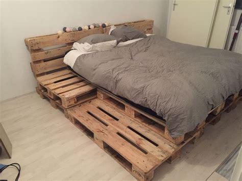 futon pallet palletbed bedroom pallet bed steigerhout 11pallets