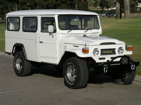 1980 Toyota Land Cruiser For Sale 1980 Toyota Land Cruiser Fj45 Troopie Bring A Trailer