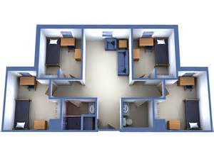 What Is A Bedroom Community Fau Resident Hall Layout