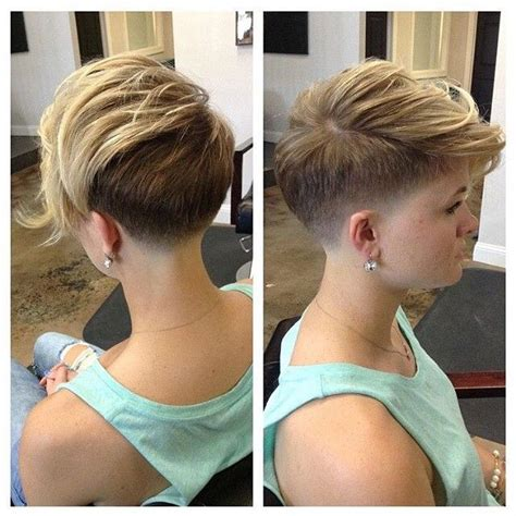 pixie hairstyle full on top tapered back for women 25 best ideas about undercut fade on pinterest pixie