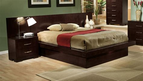 queen size platform bedroom sets modern 4 pc platform bed queen bedroom fairfax va furniture stores