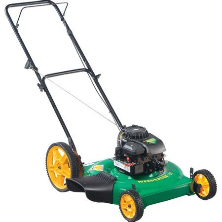 weed eater 22 quot 2 in 1 side discharge high wheel lawn mower walmart com
