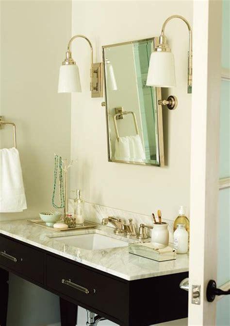 bathroom perspex lucite pulls transitional bathroom