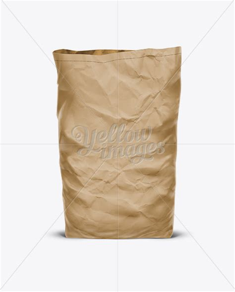 How To Make A Big Paper Bag - big paper bag craft in bag sack mockups on yellow images