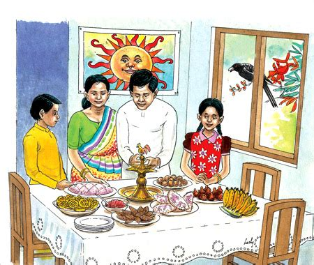 Sinhala And Tamil New Year Essay by Children