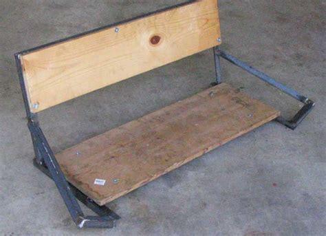 go kart bench seat make an adjustable go kart seat