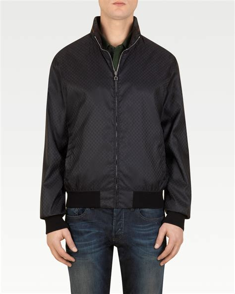 Gucci Jacket by Gucci Mini Gg Jacket In Black For Lyst