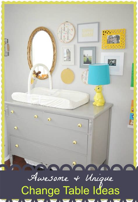 ideas for changing tables fabulous change table ideas baby room ideas