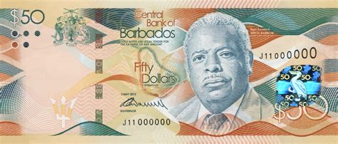 New Barbados Bank Notes Barbados Org Blog