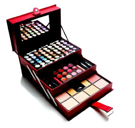 Exsclusif 3 In 1 The Colossal Maybeline Set 3 In 1 Maskara Bedak Eyel cameo all in one makeup kit eyeshadow palette blushes powder and more exclusive