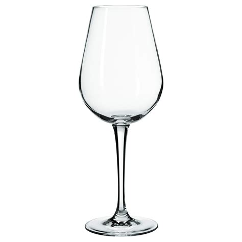 Stemware Wine Glasses Hederlig White Wine Glass Clear Glass 35 Cl Ikea