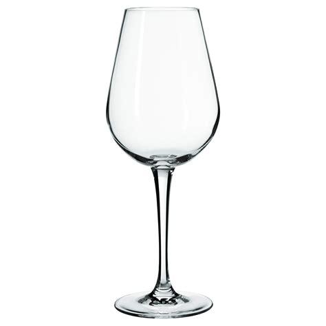 Cawan Ikea hederlig white wine glass clear glass 35 cl ikea
