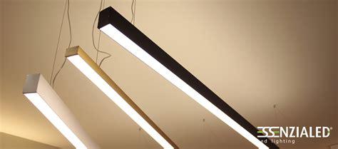 illuminazione a sospensione led power in xl profili a led a sospensione