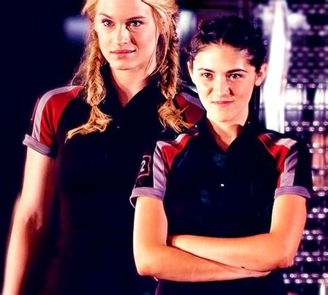 hunger games hairstyles glimmer clove from hunger games glimmer and clove hunger games