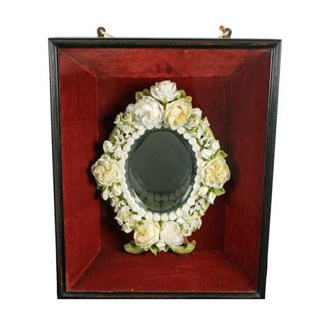 unusual mirrors antique wax framed mirror unusual wax mirror