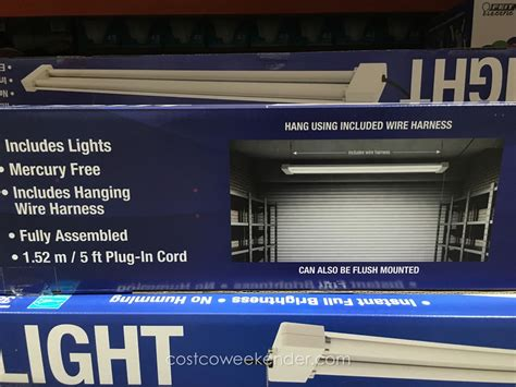 costco led light feit electric led utility shop light costco weekender