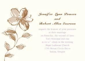 printable floral wedding invites ewi179 as low as 0 94