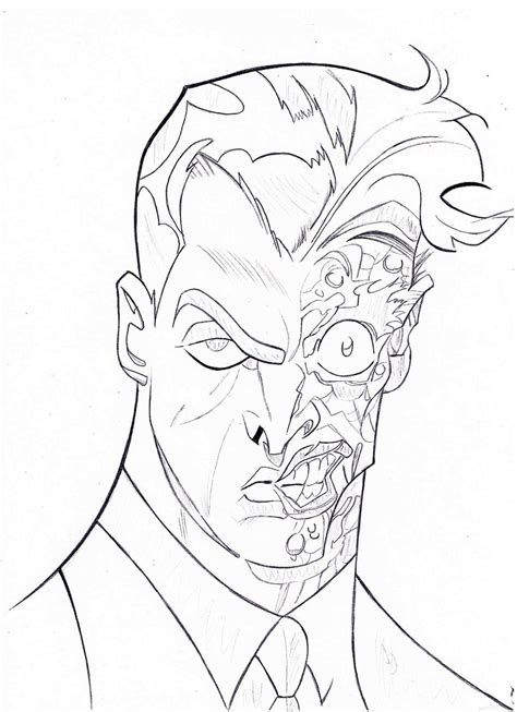 two face sketch by thefancifulghost on deviantart