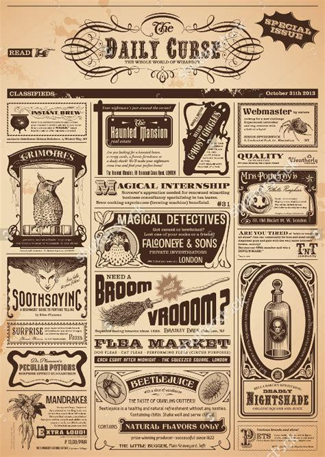 vintage newspaper template 12 vintage newspaper templates free sle exle