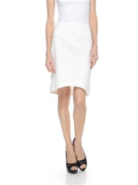 structured pencil skirt with raised hem price review and