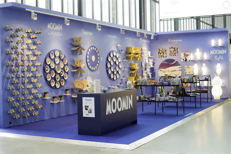 design fair cafe exhibitions 187 moomin products