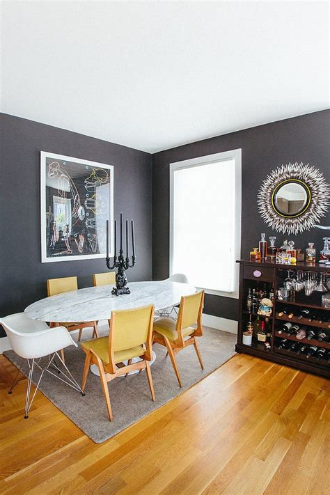 trendy color duo 20 dining rooms that serve up gray and