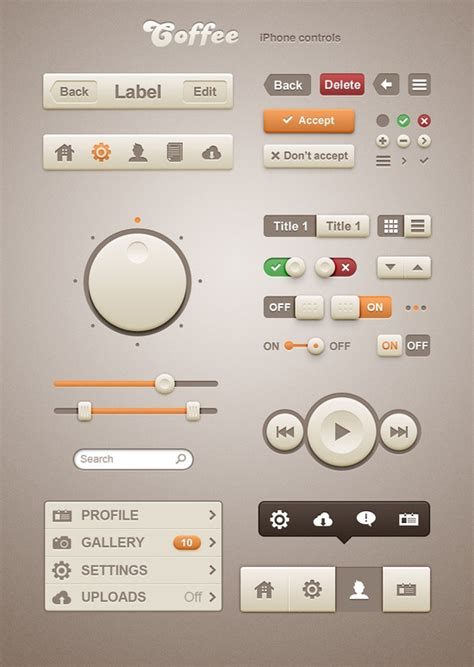 command pattern ui free gui ui ux psd kits and web elements for download