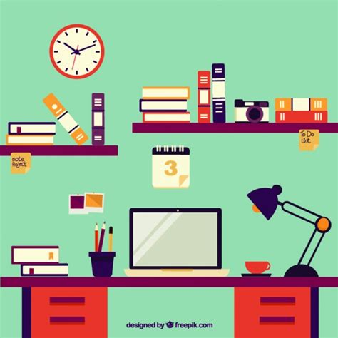 student desk top student desktop vector free