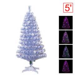 5ft fiber optic star lights tree pre lit christmas tree