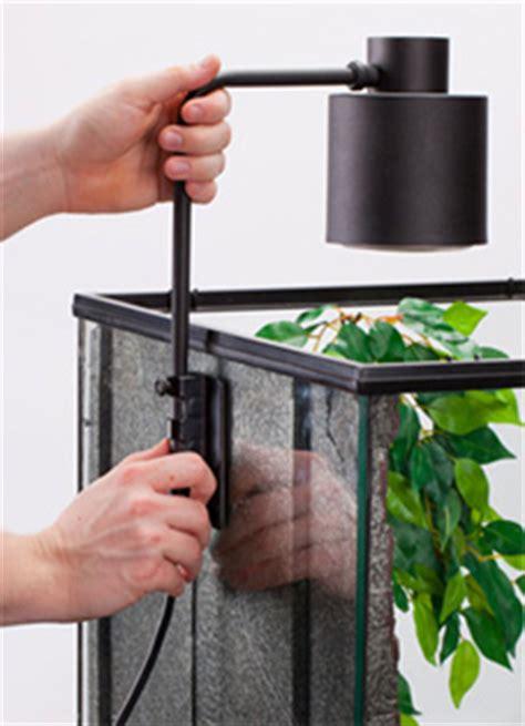 exo terra terrarium fixture basking lamp fixture